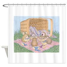 Micey Nice Picnic Shower Curtain