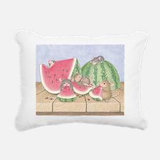 Full of Melon Rectangular Canvas Pillow