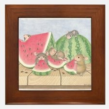 Full of Melon Framed Tile