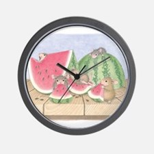 Full of Melon Wall Clock