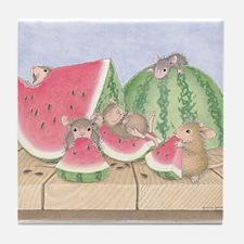 Full of Melon Tile Coaster