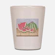 Full of Melon Shot Glass
