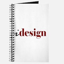 "I ""Design"" (red) Journal"