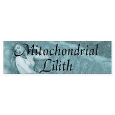 Mitochondrial Lilith Bumper Sticker