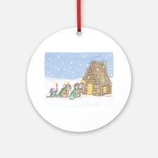 Candlelit Voyage Ornament (Round)