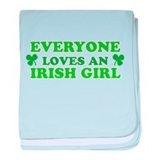 Everyone Loves An Irish Girl St Patricks Day baby