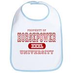 Horsepower University Bib