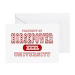 Horsepower University Greeting Cards (Pk of 10