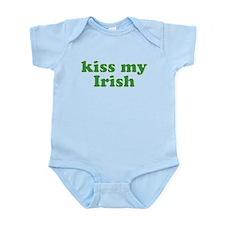 Kiss My Irish St Patricks Day Body Suit