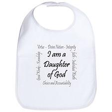 I Am a Daughter of God Bib