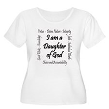 I Am a Daughter of God Plus Size T-Shirt