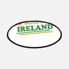Made In Ireland St Patricks Day Patches
