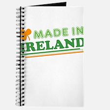 Made In Ireland St Patricks Day Journal