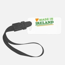 Made In Ireland St Patricks Day Luggage Tag