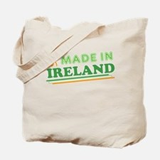 Made In Ireland St Patricks Day Tote Bag