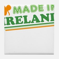 Made In Ireland St Patricks Day Tile Coaster