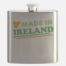Made In Ireland St Patricks Day Flask
