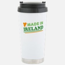 Made In Ireland St Patricks Day Travel Mug