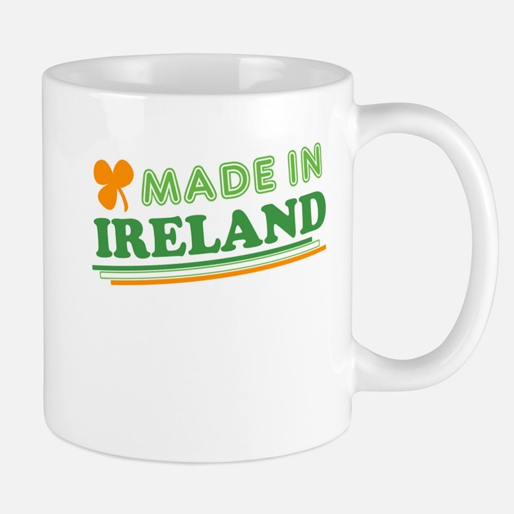 Made In Ireland St Patricks Day Mug