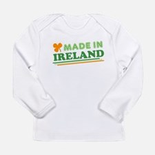 Made In Ireland St Patricks Day Long Sleeve T-Shir
