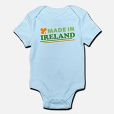 Made In Ireland St Patricks Day Body Suit
