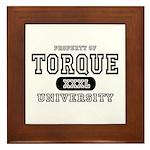 Torque University Framed Tile