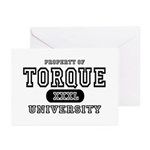 Torque University Greeting Cards (Pk of 10)