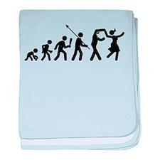 Swing Dancing baby blanket