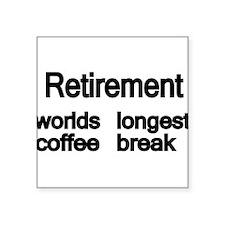 Retirement Sticker