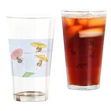 Free Fallin Drinking Glass