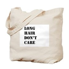 long hair dont care Tote Bag