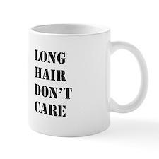 long hair dont care Small Mug