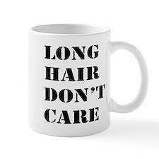 long hair dont care Mug