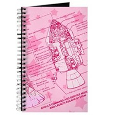Pink Space Capsule Journal