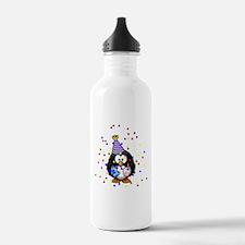 Party Penguin Confetti Water Bottle