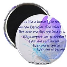 Cute Aspergers syndrome Magnet