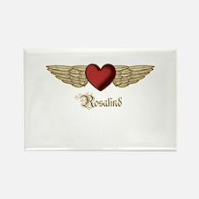 Rosalind the Angel Rectangle Magnet