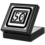 Being 50 Keepsake Box