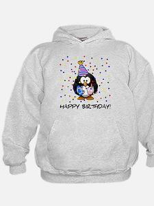 Happy Birthday Penguin Hoodie