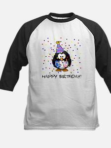 Happy Birthday Penguin Baseball Jersey