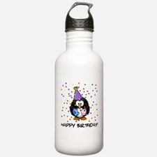 Happy Birthday Penguin Water Bottle