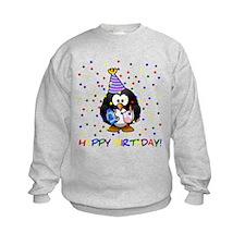 Birthday Penguin Sweatshirt