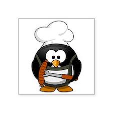 Penguin Grill Sticker