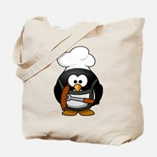 Penguin Grill Tote Bag