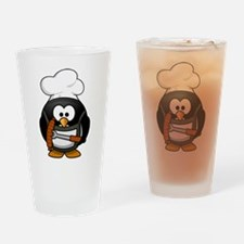 Penguin Grill Drinking Glass