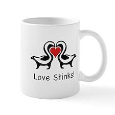 Love Stinks Skunks Mug
