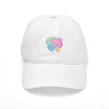 Fun Candy Hearts Personalized Baseball Cap