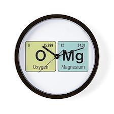 OMG - Chemistry Wall Clock