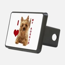 aussie terrier Hitch Cover
