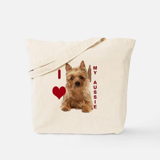 aussie terrier Tote Bag